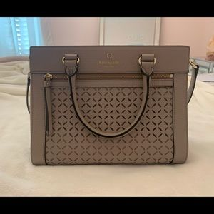 Kate Spade Perri Lane Romy tan Purse Bag Crossbody